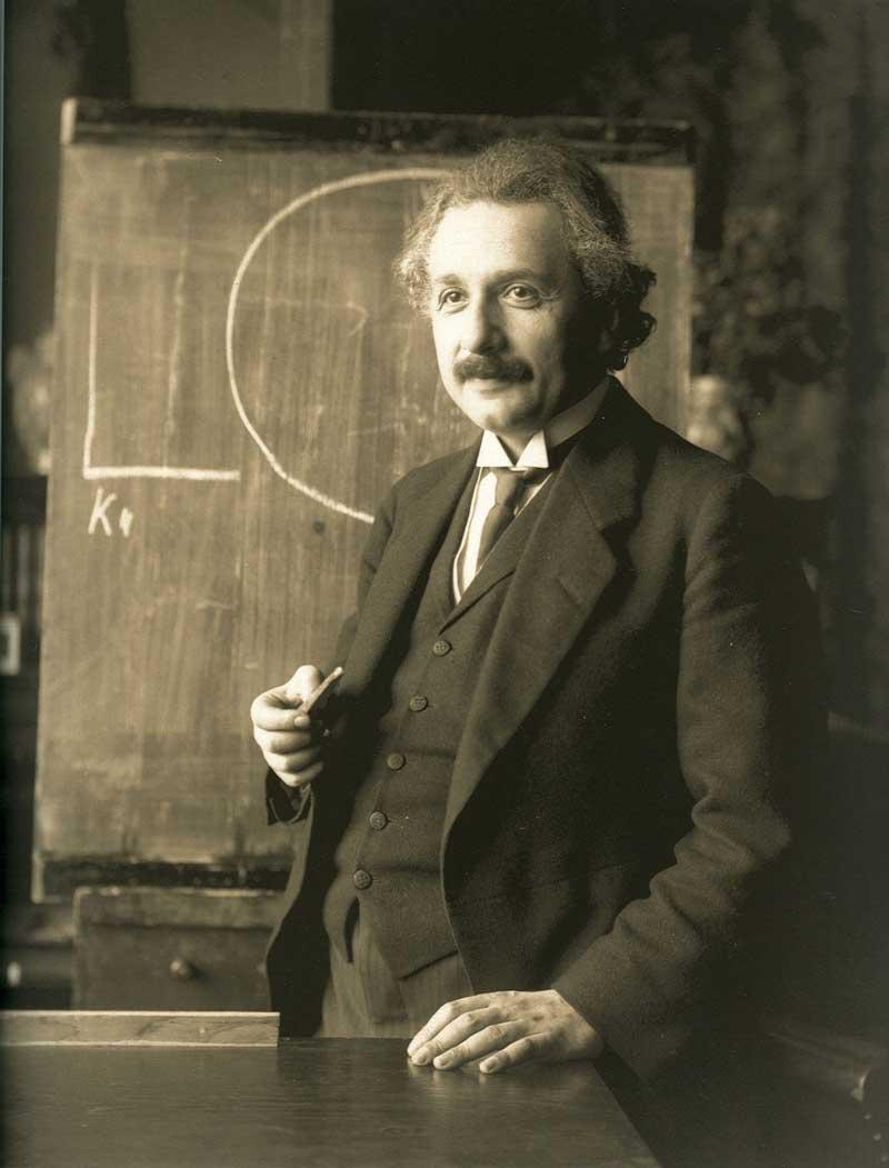 eistein física cuántica