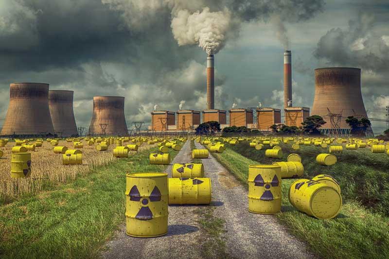 Campo energético contaminación