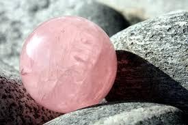 cuarzo rosado tallado