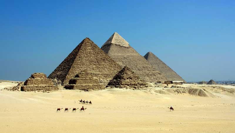Pirámides y magnetismo