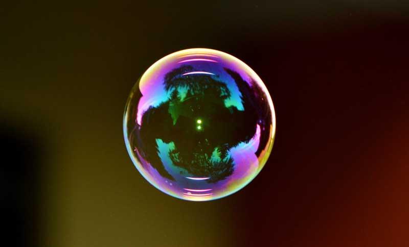 burbuja frecuencia vibratoria