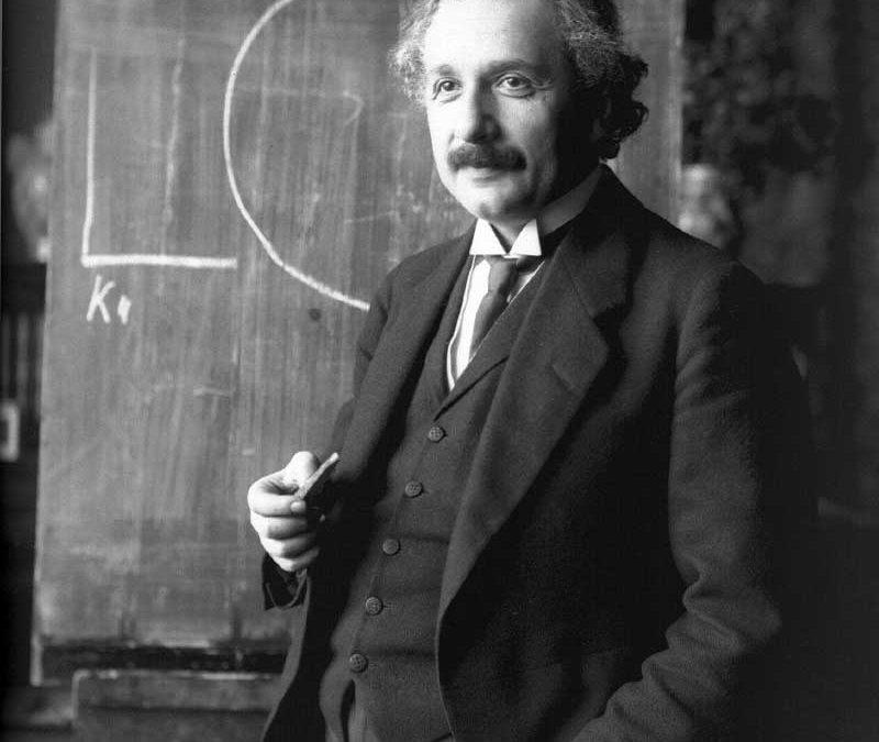 Albert Einstein, energía y espiritualidad