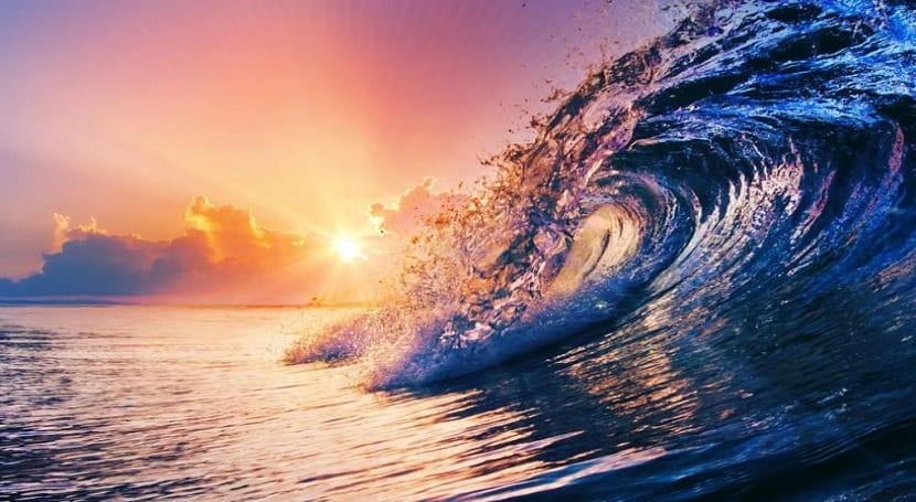 efectos terapéuticos del mar olas