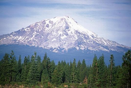 Monte shasta montain
