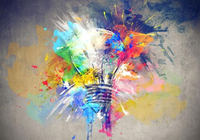vivir en el presente y creatividad