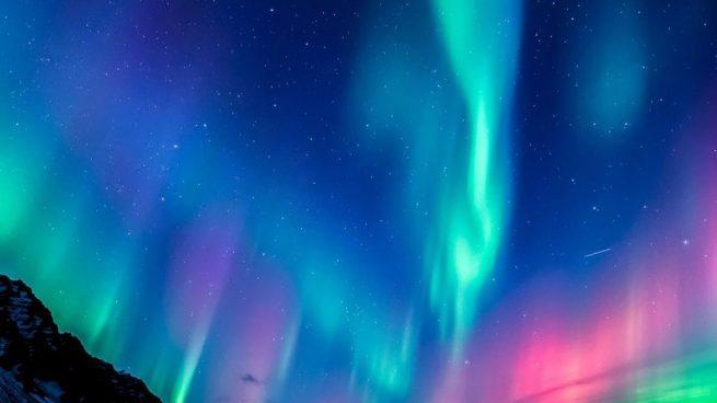 colores aurora boreal