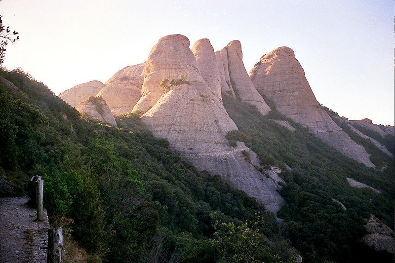 montaña monserrat