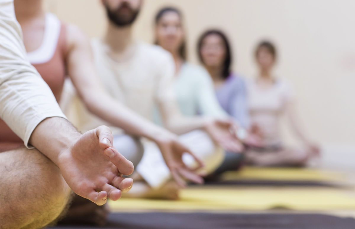 meditación grupal
