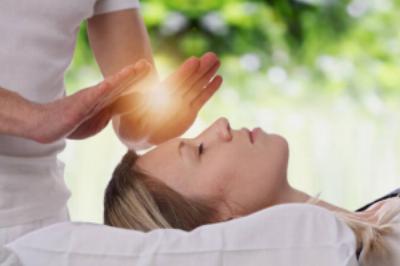 sanación con las manos