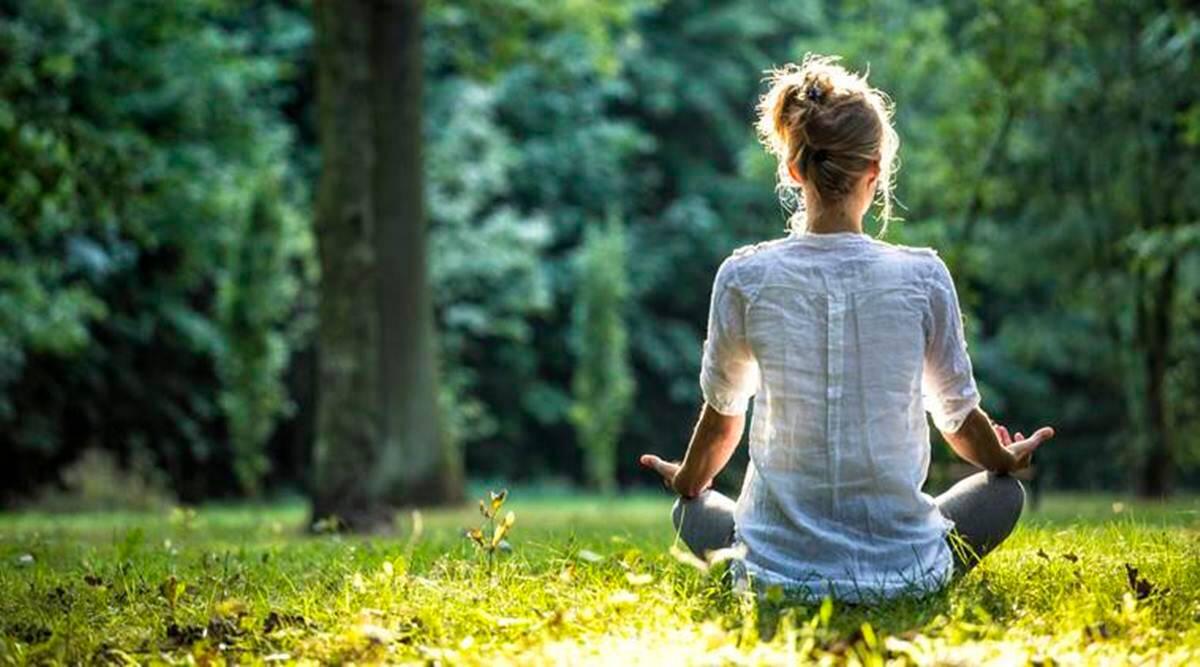 estrés meditación