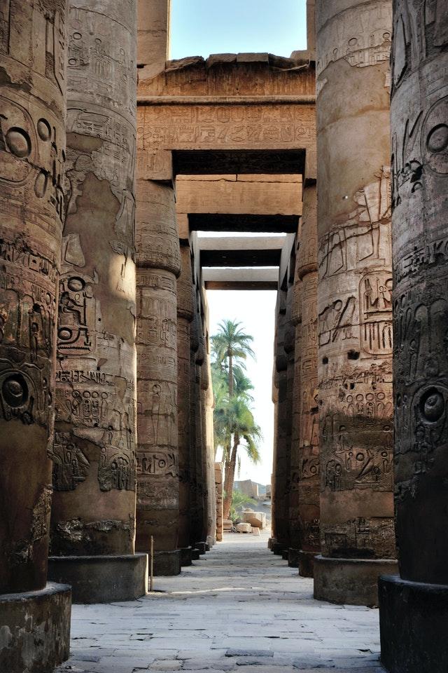 geometría sagrada en egipto